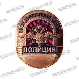 Нагрудный знак Полиция Вневедомственная  Охрана России