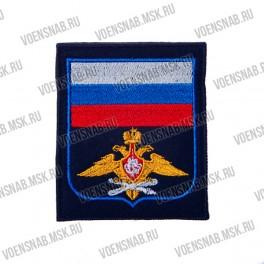 Нашивка с липучкой войска СВЯЗИ цветная (НОВЫЙ по 300 приказу)