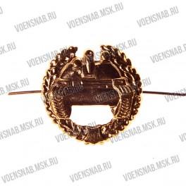Эмблема петличная Казачество , золото (сабли без  подковы)