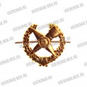 Эмблема петличная Танковые войска (старая) металл защитного цвета