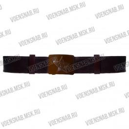 Ремень поясной из ленты ременной черного цвета