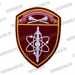 Нашивка нарукавная ВВ МВД (сфинкс) Северо-Западный округ (пластизоль)