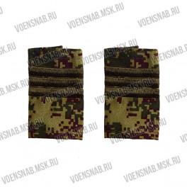 """Фальш-погоны КМФ """"Цифра"""" сержант"""
