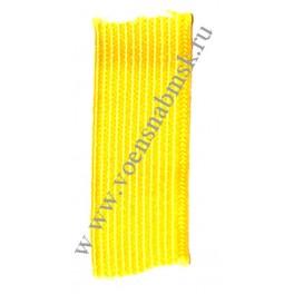 Галун шёлковый шириной 10 мм, желтый