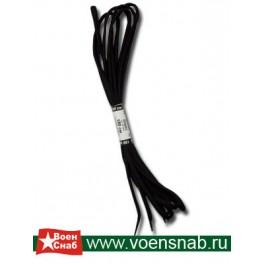 Шнурки черные,180 см