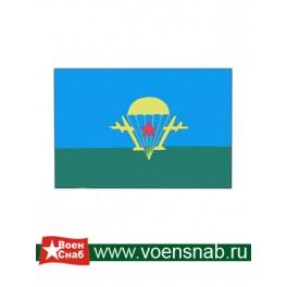 "Флаг ВДВ со звездой ""старый"" (40*60)"