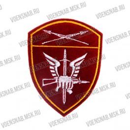 Вышитая нашивка нарукавная Росгвардия Центральный ВО , Учебные воинские части