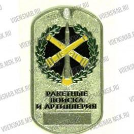 "Жетон ""Охрана"" (щит, мечи, глаз)"