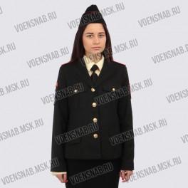 Жакет кадетский с карманами на груди