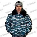 """Куртка  """"Оперативная"""" (утепленная, короткая, капюшон, меховой ворот, ЦИФРА)"""