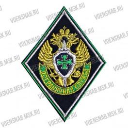 Нашивка нарукавная ВВ МВД РФ, овал, краповое сукно (пластизоль)