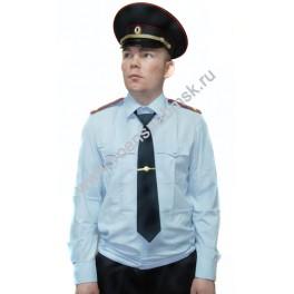 Рубашка форменная Полиции, с длинным рукавом