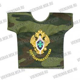 Рубашка малая сувенирная с вышивкой ГРУ