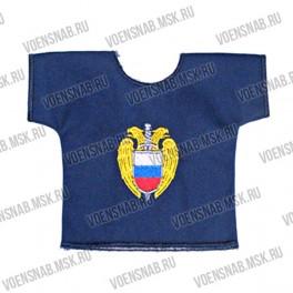 Рубашка малая сувенирная с вышивкой Россия ВДВ