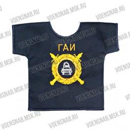 Рубашка малая сувенирная с вышивкой Россия МВД