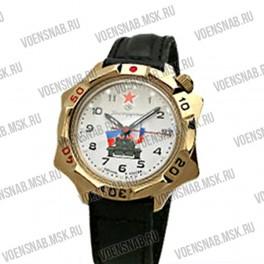 """Часы """"Командирские Восток"""" (черный циферблат, посекундная отметка)"""