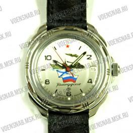 """Часы """"Командирские Восток"""" (РВиА эмблема, 2 звезды)"""