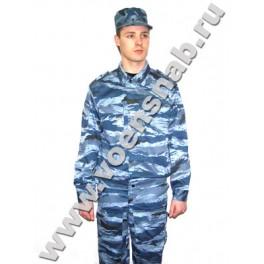 """Костюм """"Спецназ"""", серо-голубой камуфляж"""