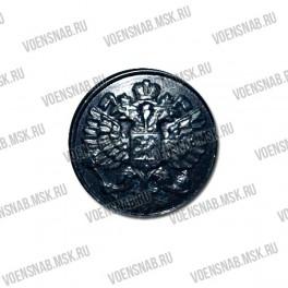Пуговица С 52 (на ножке), якорь, 14 черный цвет