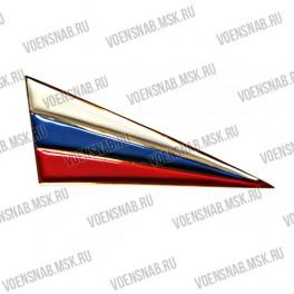 Флаг неуставной с орденской лентой (дл.орёл), пластик