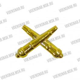 Эмблема петличная РВиА (новая) защитный пластик