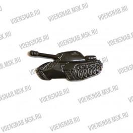 Эмблема петличная Танковых войск (новая левая и правая) золотой пластик