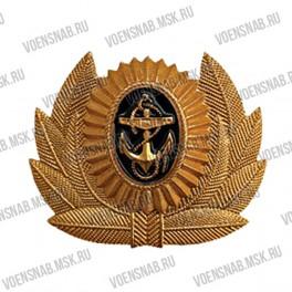 Кокарда ПВ офицерского состава полевая (ребристая)