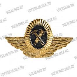 Кокарда МПС женская (малая) золотая