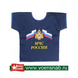 Рубашка малая сувенирная с вышивкой МЧС России