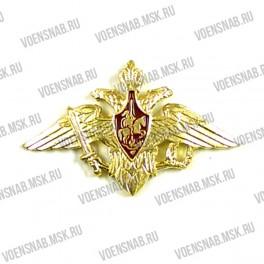 Орел на тулью МВД (круглый,старого образца,на клямерах) золотой