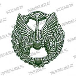 Эмблема петличная Автомобильные войска (старая) золотая