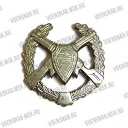 Эмблема петличная Пограничных войск (старая) золотая
