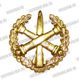 Эмблема петличная Пограничных войск (старая) защитная