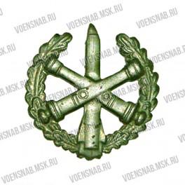 Эмблема петличная РВиА (старая) золотая