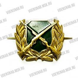 Кокарда МЧС с эмблемой на фуражки офицерского состава (старая)