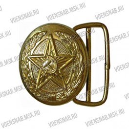 Пряжка для генеральского ремня (СССР) латунь