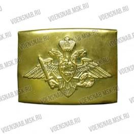 Пряжка для парадного офицерского ремня со звездой овальная