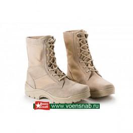 Ботинки с высокими берцами модель 138(пустыня)