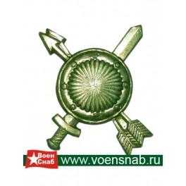 Эмблема петличная РВСН полевая
