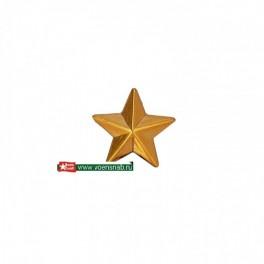 Звезда малая гладкая,золотая