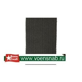 Галун шёлковый шириной 30 мм, защитный