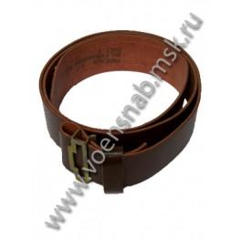 Ремень солдатский коричневый (ИК)