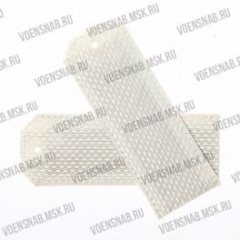 Погоны МО белые, чистые, картон